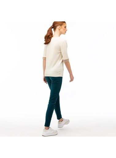 Lacoste Kadın Slim Fit Pantolon HF2004.04C Mavi